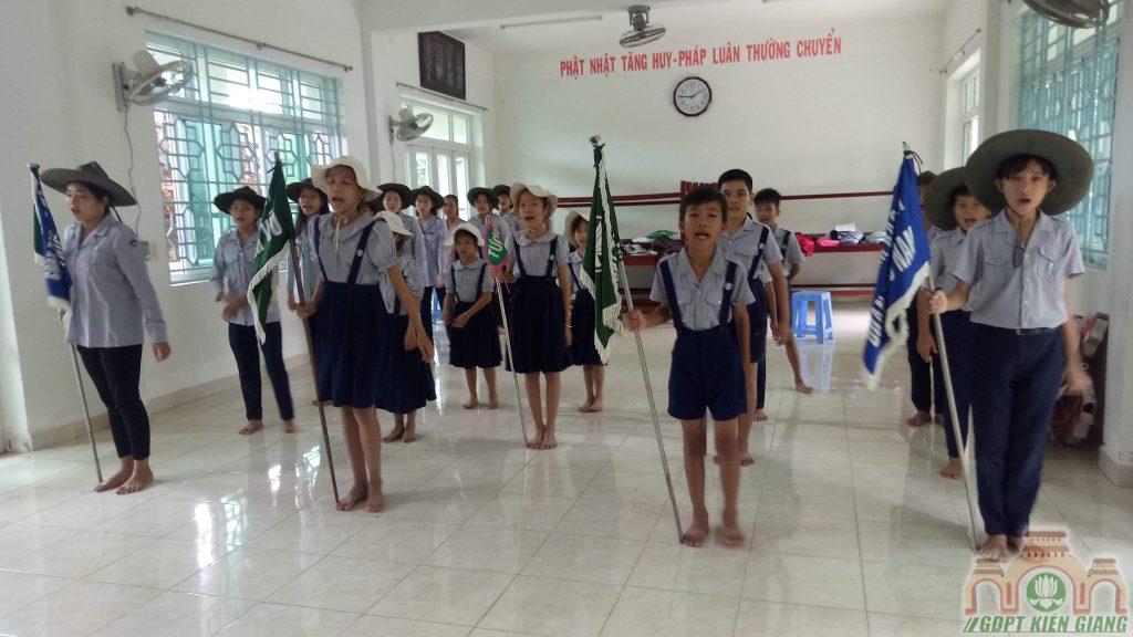 Khảo Sát ĐVVM Ngày 11/8/2019 tại GĐPT Tam Bảo (Hà Tiên)