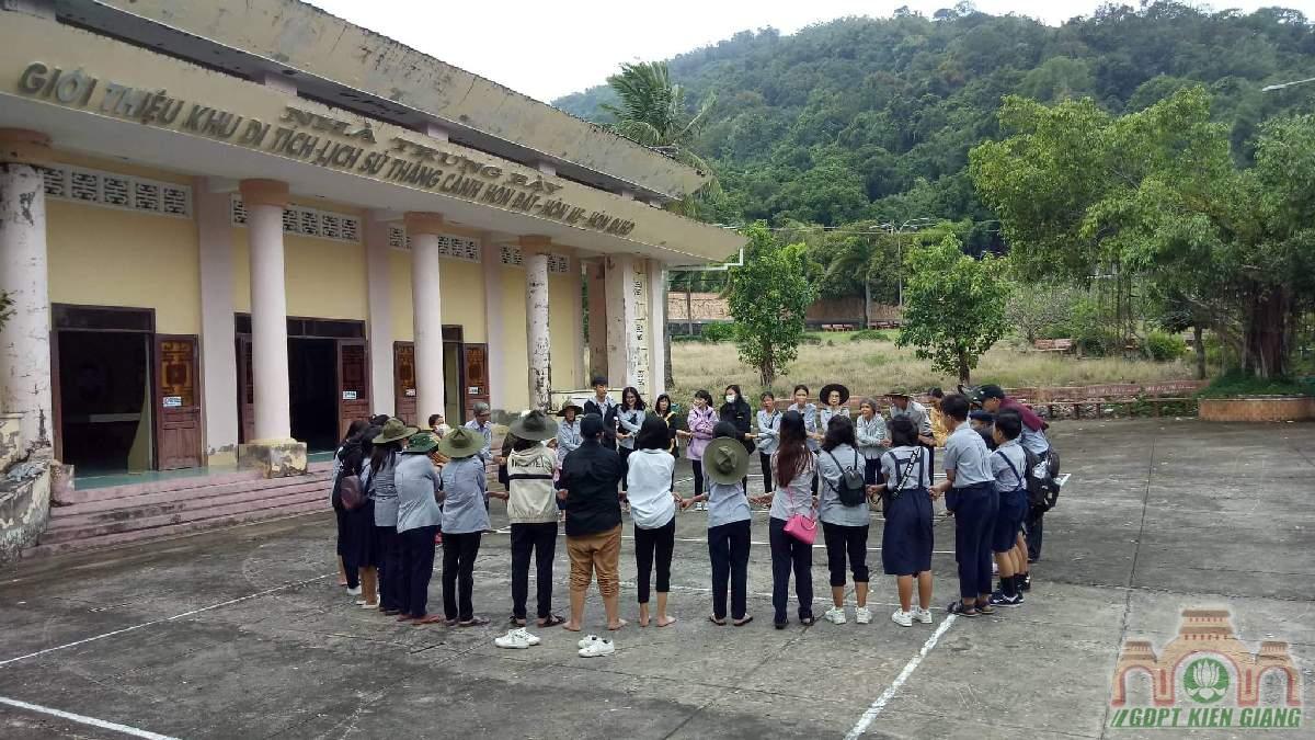 GĐPT Tam Bảo (Hà Tiên) và GĐPT Thanh Hòa tổ chức dã ngoại quý 3/2019