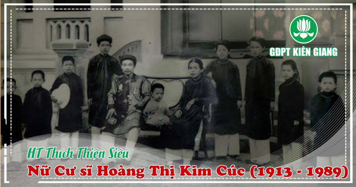 Nữ Cư sĩ Hoàng Thị Kim Cúc (1913 - 1989)