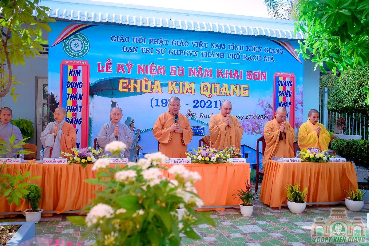 Le Ky Niem 50 Nam Thanh Lap Chua Kim Quang 02