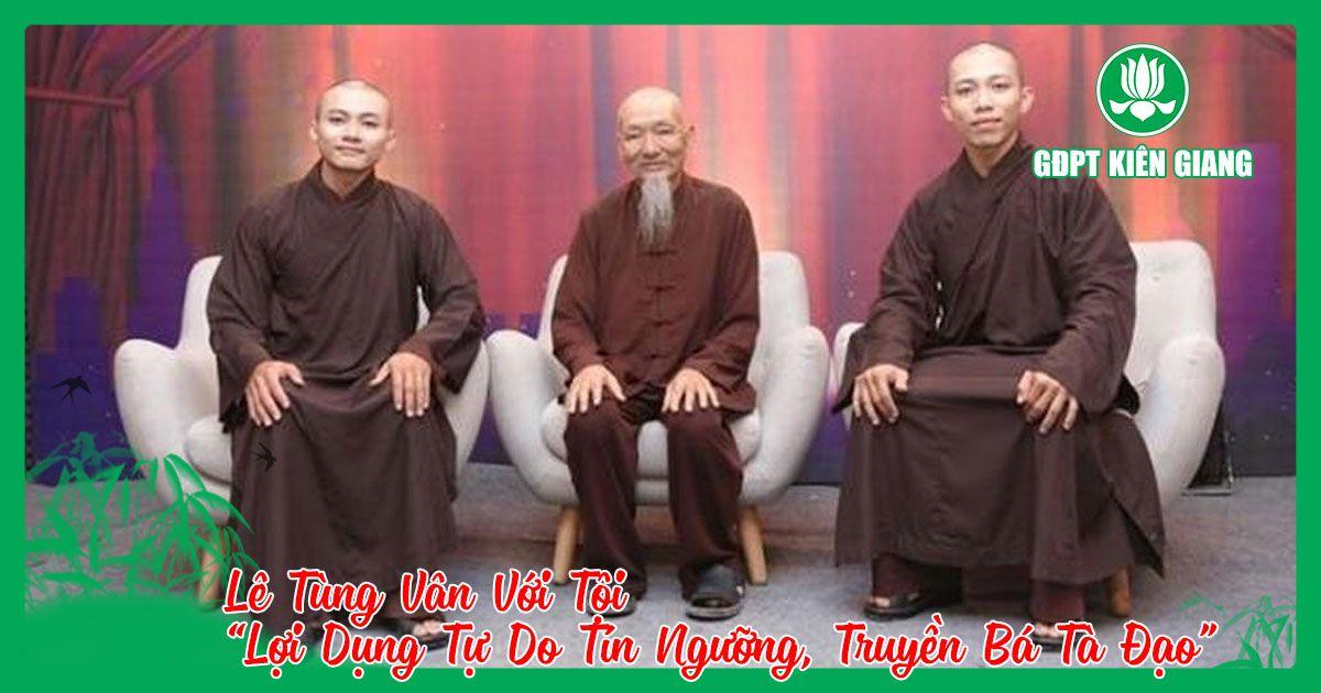 Le Tung Van Voi Toi Loi Dung Tu Do Tin Nguong Truyen Ba Ta Dao 1